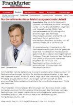 Статья в газете Frankfurter Neue Presse